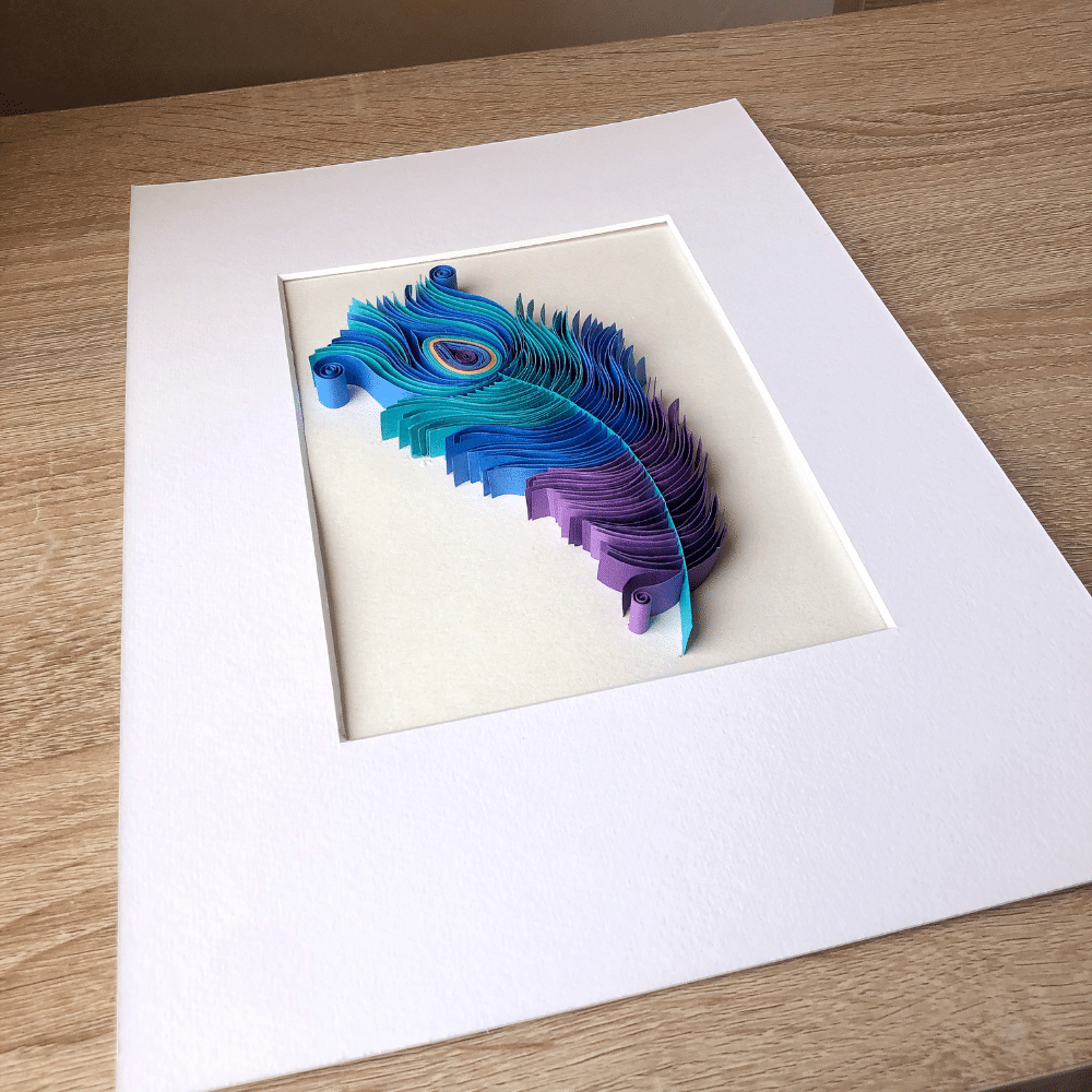 Paper Quilling Wall Art