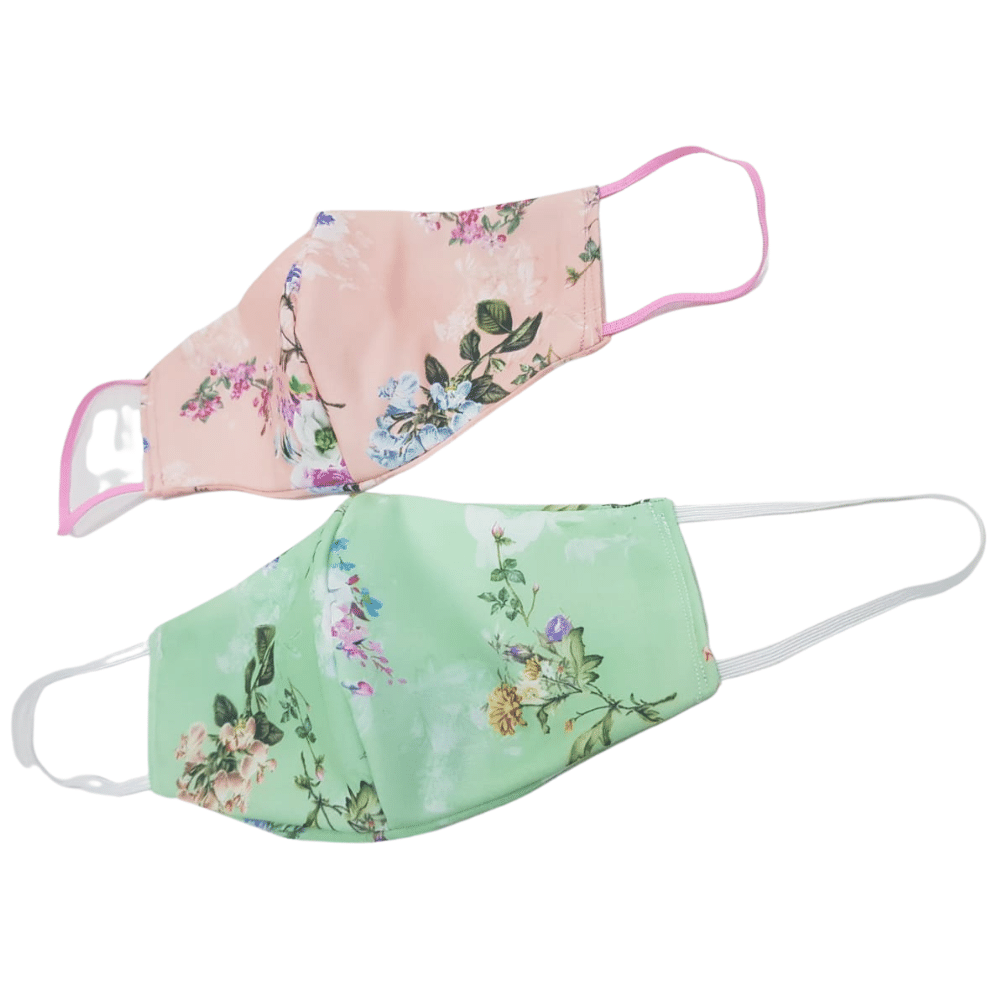 Mask and Scrunchie - Peppermint Green