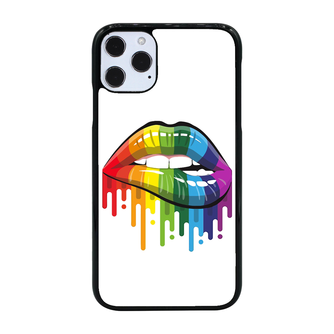 Colorful Lips iPhone Mobile Cover